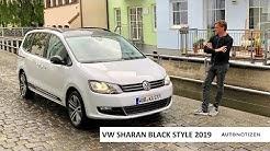 VW Sharan Black Style TDI 4Motion (177 PS) 2019 - Review, Test, Fahrbericht
