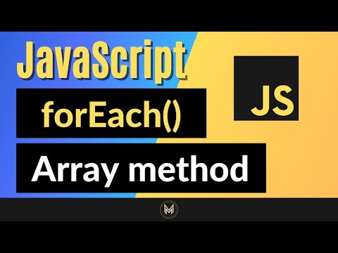 JavaScript forEach Method   Complete JS Array Methods Series