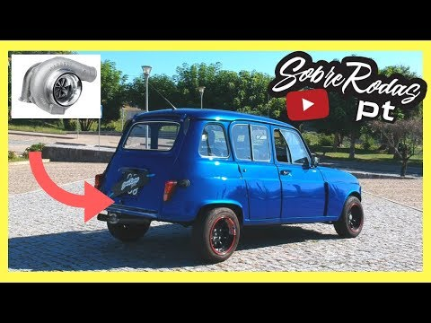 Renault 4L com motor alpine turbo