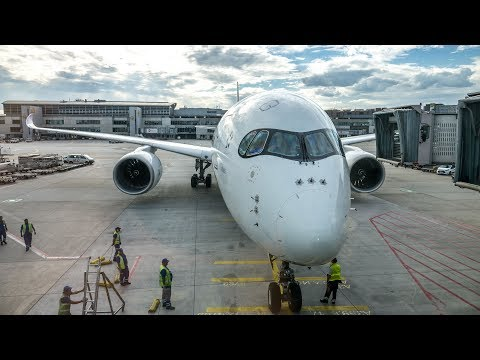 Thai Airways Airbus A350-900 Frankfurt - Bangkok Economy Class Flight Review
