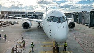 FLIGHT REVIEW   Thai Airways   Airbus A350-900   Frankfurt - Bangkok   Economy Class
