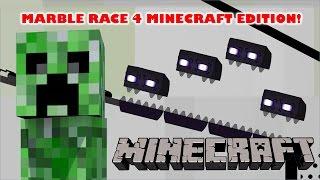 Marble Race 4 - Minecraft Edition in Algodoo - Kinder Playtime Kind...
