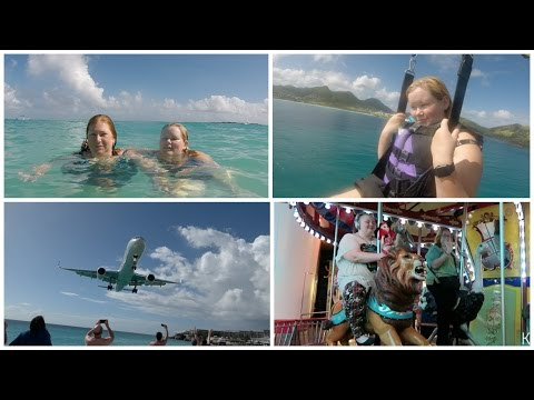 USA Trip : Day 22 - Beach and planes in St. Marteen - St. Martin