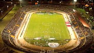 LOS 23 MEJORES ESTADIOS DEL PERU