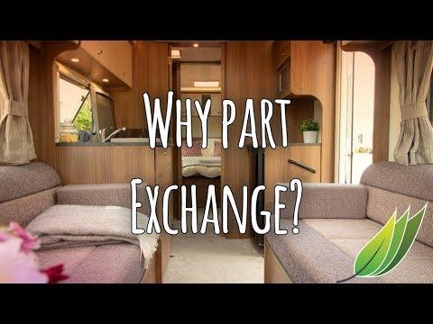Why Part Exchange A Caravan?