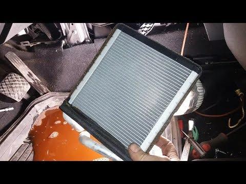 Промывка или Замена Радиатора Печки Шкода СуперБ