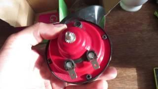 Звуковой автомобильный сигнал GMP (обзор)