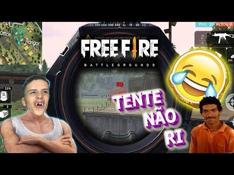 FREE FIRE - O ASSALTANTE MORREU | TENTE NÃO RI!!