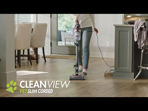 CleanView® Pet Slim Corded Vacuum Feature Overview
