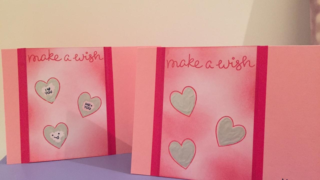 Beroemd Zelf een kraskaart maken: eenvoudig last minute valentijnscadeau  @NE52