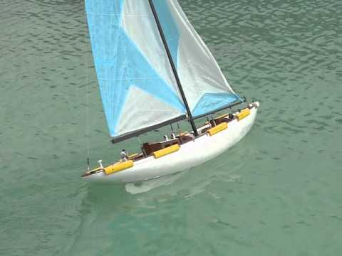 Rc Yacht Sailing Youtube