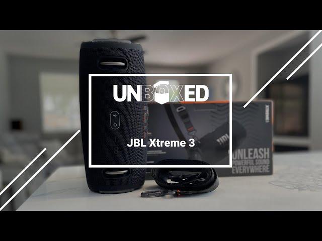 UNBOXED: JBL Xtreme 3