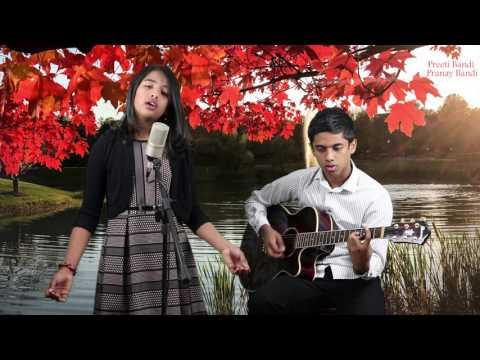 Chris Tomlin A Christmas Alleluia   Lauren Daigle Acoustic e Cover By Preeti Bandi& Pranay Bandi