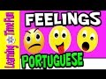 Feelings and Emotions in Brazilian Portuguese | Kids Portuguese | Portuguese Language | Sentimentos