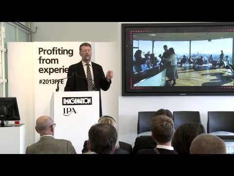 Profiting from experiences - Joe Pine