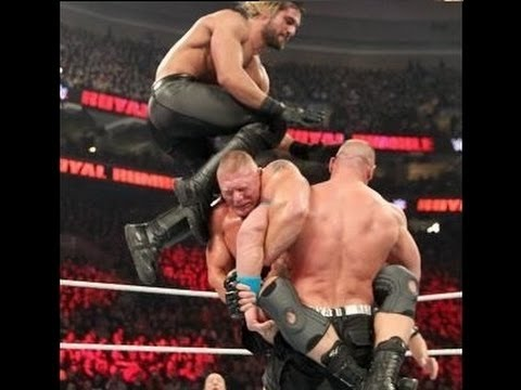 [CHANNEL CHEA] Heavyweight Championship Royal Rumble 2015 Brock Lesnar VS John Cena VS Seth Rollins