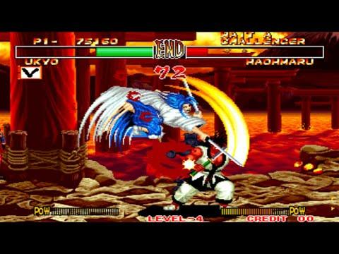 Samurai Shodown 2 - Ukyo Tachibana (Arcade - 1994)