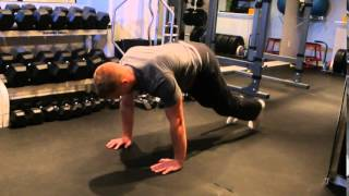Planks Exercise: Two-Foot Combo