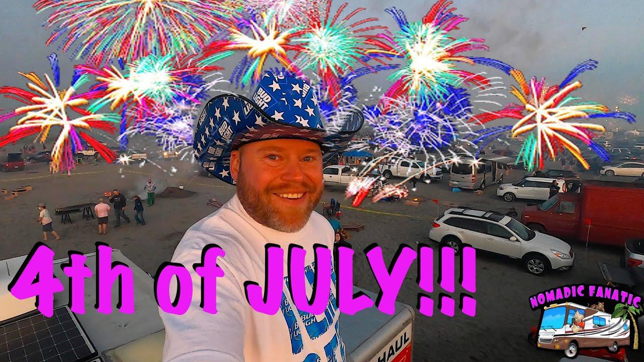 Never Seen More Fireworks in my LIFE! Oceanworks!!!