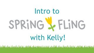 Intro to Spring Fling paper collection