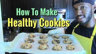 Healthy Cookie - Banana Applesauce Chocolate Chip!