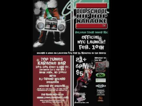 """2-10-2010 OFFICIAL NYC LAUNCH """"OLD SCHOOL HIPHOP KARAOKE"""