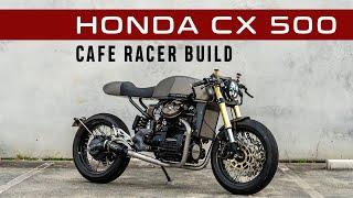 Honda CX500 Cafe Racer Build | Custom Motorcycle by Purpose Built Moto