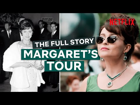 The Crown | The Full Story Behind Princess Margaret's Tour of the USA