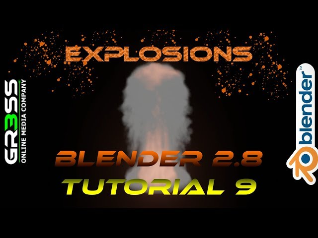 Blender 2.8 Beta Tutorial Explosion | NuclearExplosion | Fire & Smoke Deutsch