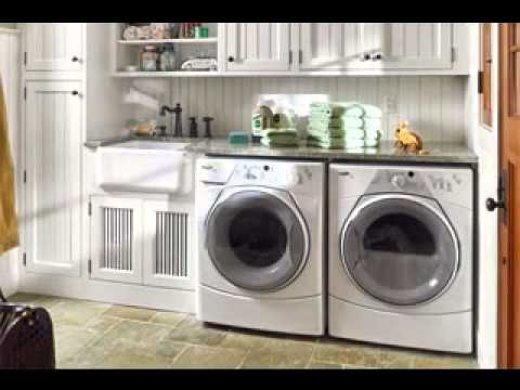 Easy garage laundry room decorating ideas youtube - Laundry room design ideas ...