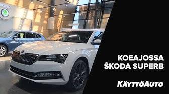 Koeajossa ŠKODA-malliston uusi ladattava hybridi, ŠKODA SUPERB iV