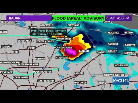 Houston Weather: Strong Storms, Reports Of Tornadoes Across Southeast Texas