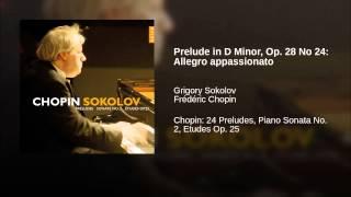 Prelude in D Minor, Op. 28 No 24: Allegro appassionato