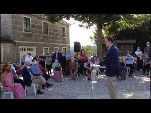 Rajoy defiende en Beariz las ayudas a los autónomos y pymes de Ourense