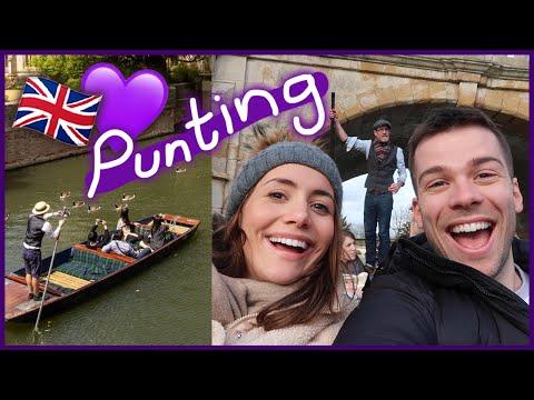Punting In Cambridge!
