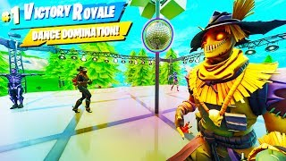 DISCO DOMINATION WITH NEW SKULL TROOPER SKIN IN FORTNITE BATTLEROYALE!