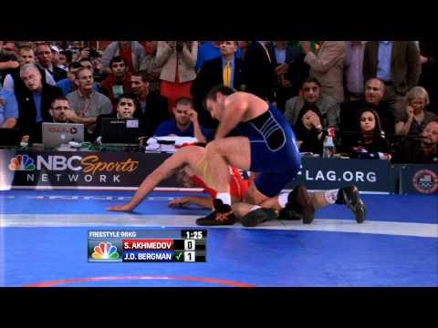 2012 Beat the Streets - 96KG - J.D. Bergman (USA) vs Shamil Akhmedov (RUS)