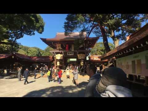 Meiji Shrine 2017 明治神宮, Meiji Jingū 東京都 Tokyo Japan. Must see sights of Tokyo 2017 HD DJI OSMO