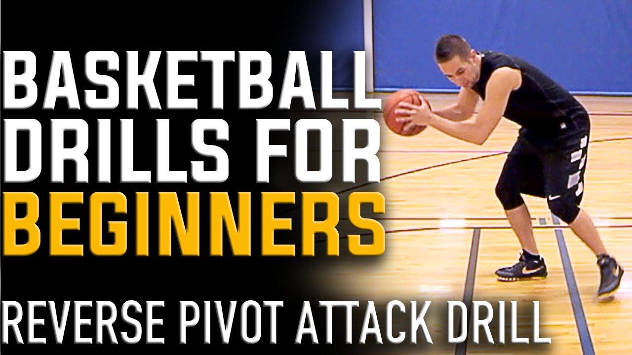 basketball drills for beginners reverse pivot attack