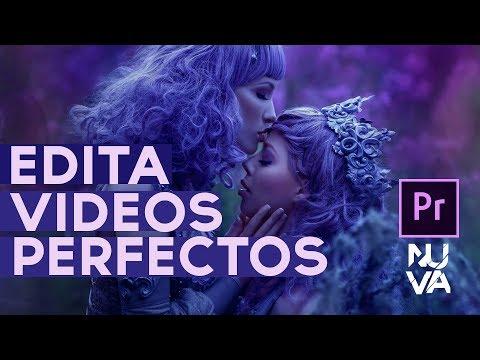 Como Editar videos Perfectos En Adobe Premiere Tutorial