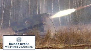 Feuer frei in Litauen – Bundeswehr übt mit Raketenwerfer MARS II