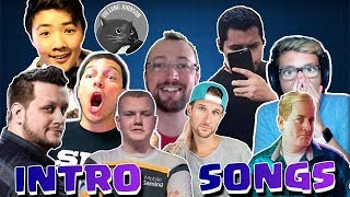 Top Intro/Outro Songs of Famous Clash Royale/Clash of Clans YouTubers!