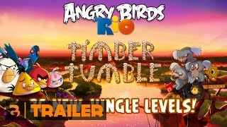 Angry Birds Rio: Timber Tumble Gameplay Trailer