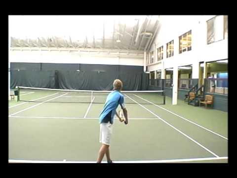 Luke Manley's College Tennis Video