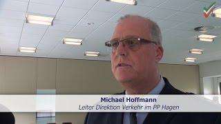 Raser-Unfall in Hagen: Das sagt der Leiter der Direktion Verkehr Michael Hoffmann nach der PK