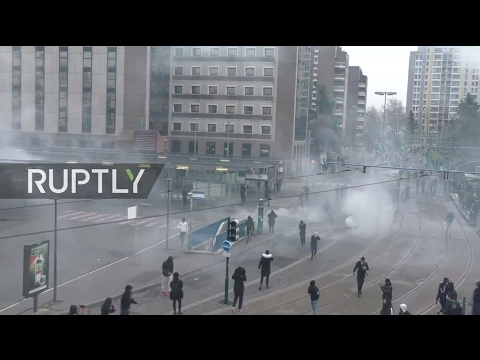 LIVE: Protesters rally in Bobigny against police violence