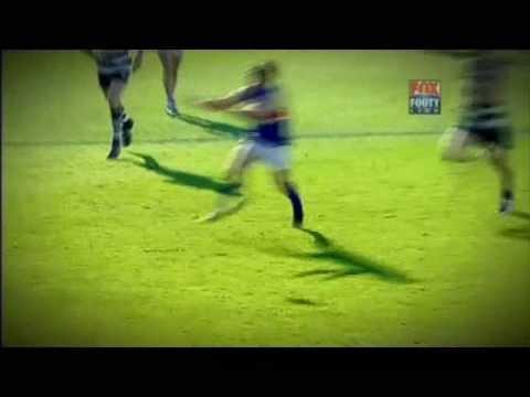 Brad Johnson running snap goal