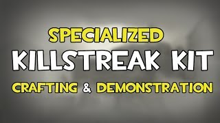 TF2 - Specialized Killstreak Kit Crafting & Demonstration