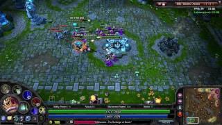 League of Legends - Gameplay Battle Video 1