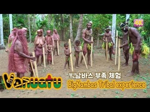 Busan MBC 'Travel Backpackers' in New Caledonia & Vanuatu 6-2 (Big Nambas * Tribal experience)